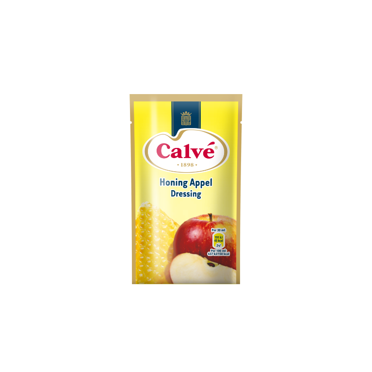 Calve Dressing Honing Appel 70 ml