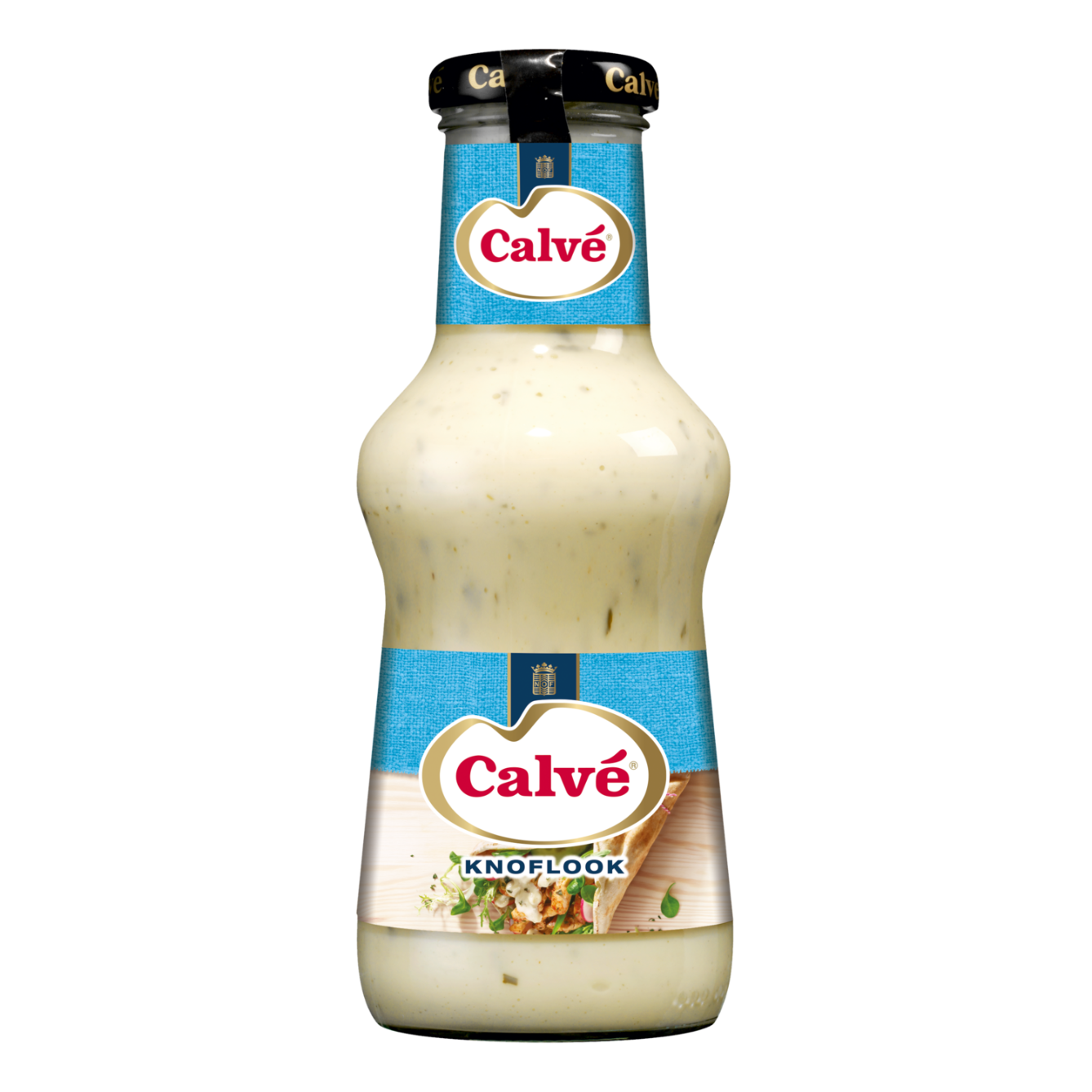 Calve  Saus Knoflook 320 ml