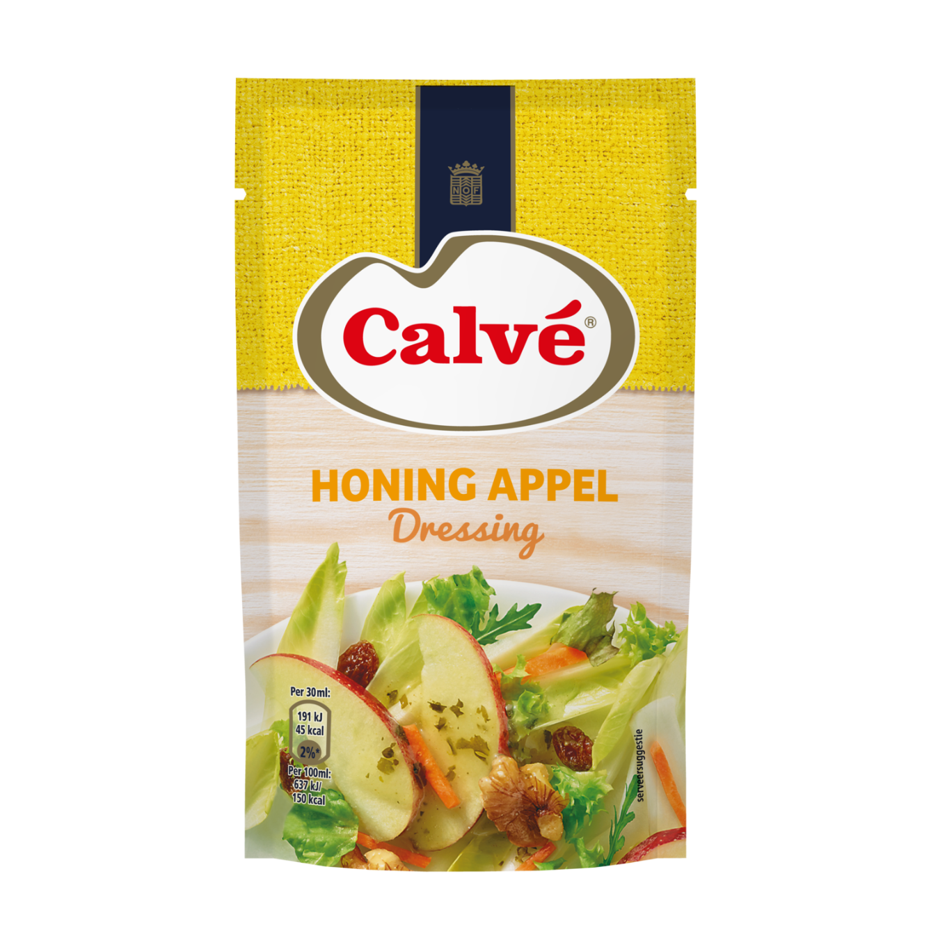 Calve Dressing Honing Appel 70 ml 8712423003835